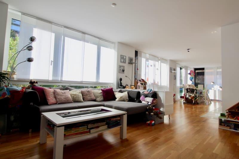 Bioggio, affittiamo luminoso appartamento 4.5 locali duplex