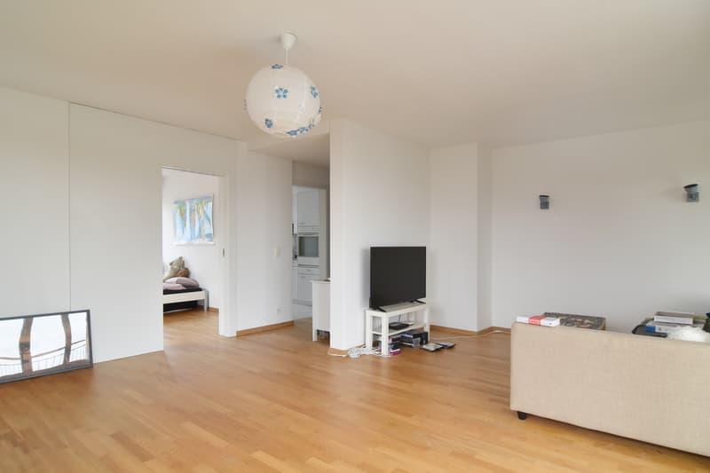 Ruhige Wohnung mit fantastischer Aussicht bis zum Säntis 1 Minute ab Bahnhof Uzwil