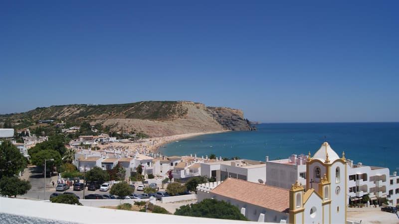 Schöne Wohnung in Praia da Luz mit Meerblick