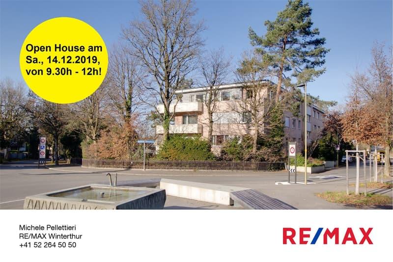 Renovierte, helle 2.5-Zi.-Wohnung an begehrter Stadtlage