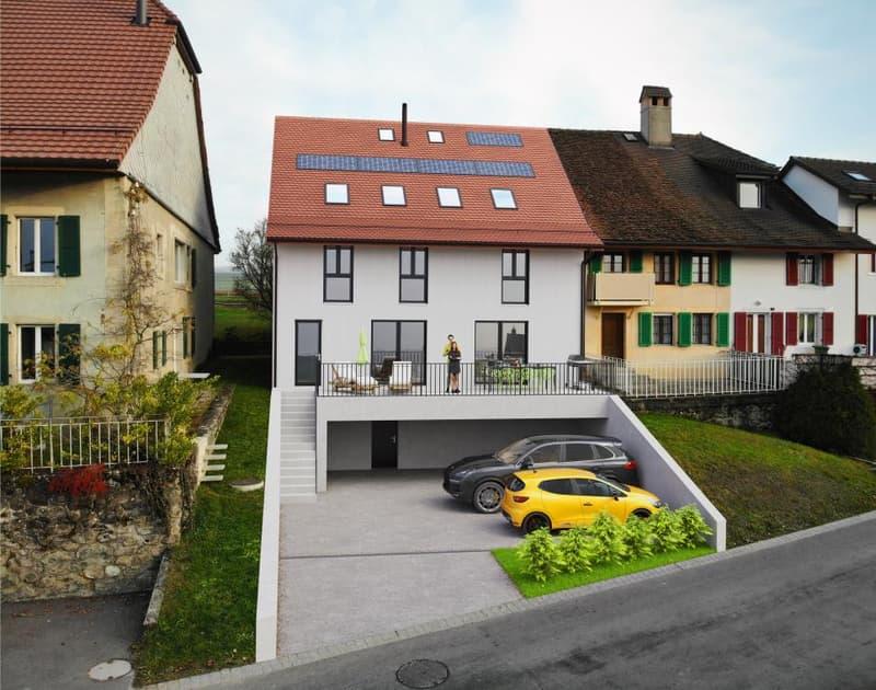 Magnifique maison villageoise de 5.5 pièces - sur plan