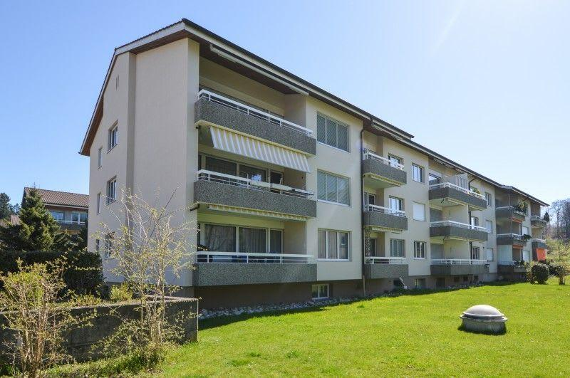 Sanierte und helle Wohnung in Schliern