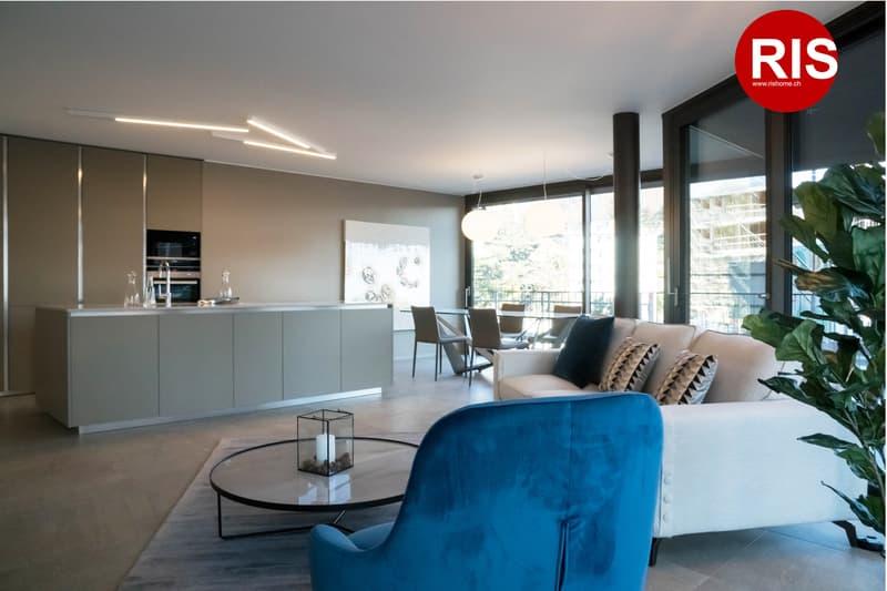 Nuovo - ampi spazi 157 mq.- moderno e di design - bassi costi di gestione, NEL VERDE!!
