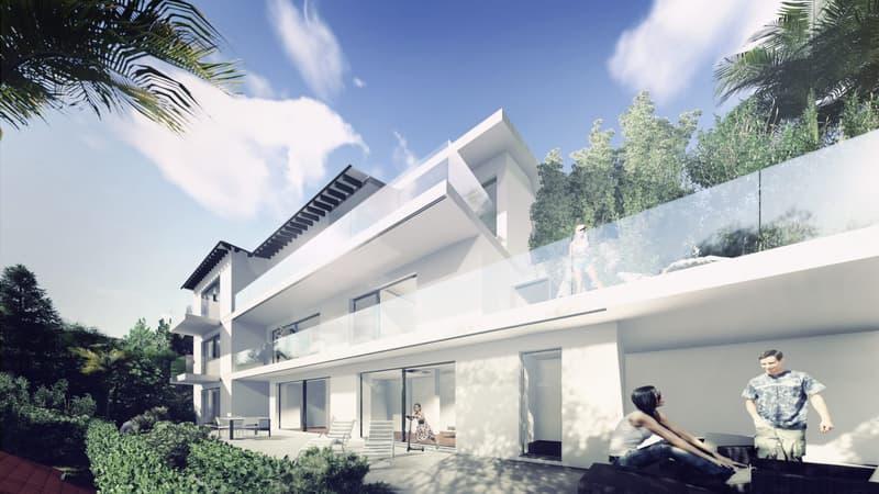 1,5 locali di 55 mq a Collina d'Oro nella Residenza Villa la Palma