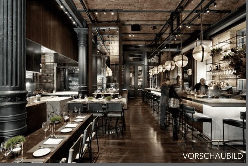 Aussicht inklusive: Ausserordentliches Bar-Restaurant zu übernehmen