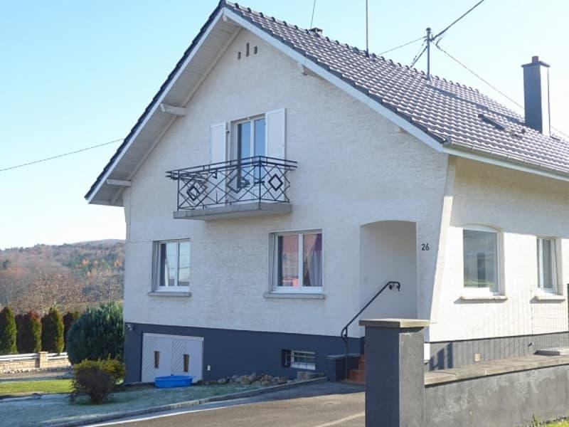 Réf 9720*** à louer - zu vermieten - for rent: Axe Leymen - Ferrette: Très belle maison env. 125 m²