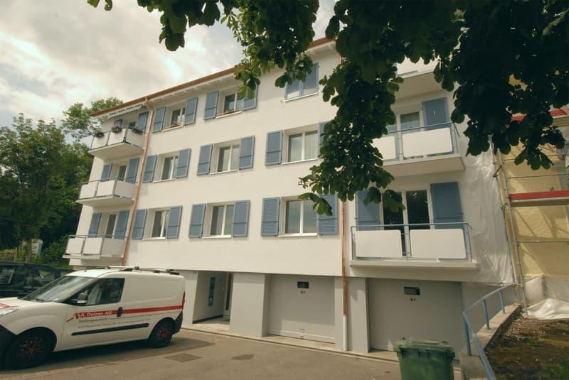Neu sanierte 3-Zimmer-Wohnung mit schöner Aussicht