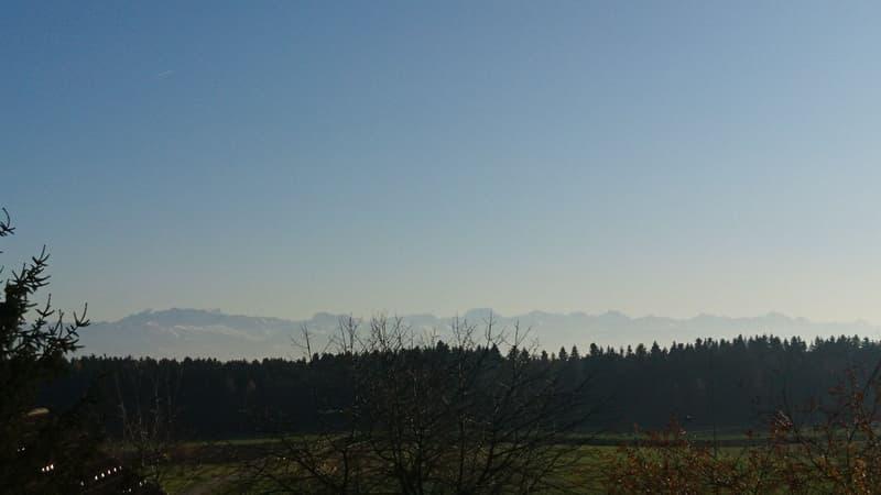 Alpenpanorama vor der Haustür - PANORA Illnau - Baubeginn am 17. März 2020 erfolgt
