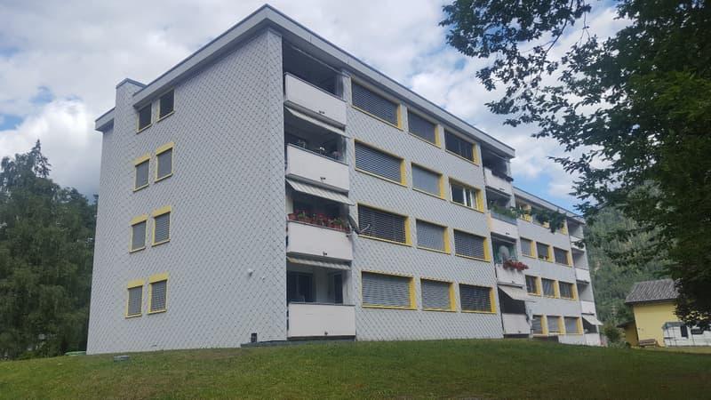 Schöne, grosse 3 Zimmerwohnung in grüner Umgebung