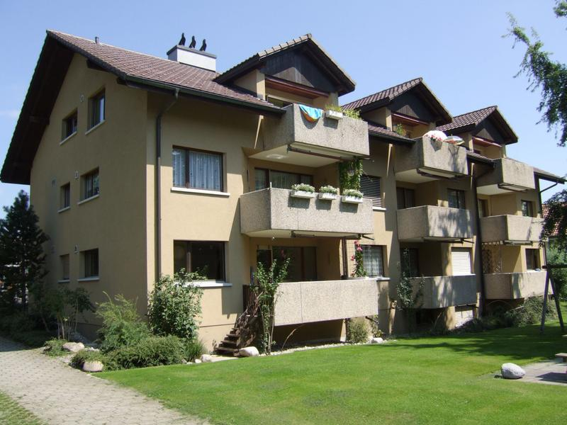 Dachwohnung mit Cheminée