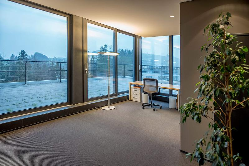 Büroraum im Attikageschoss (1)