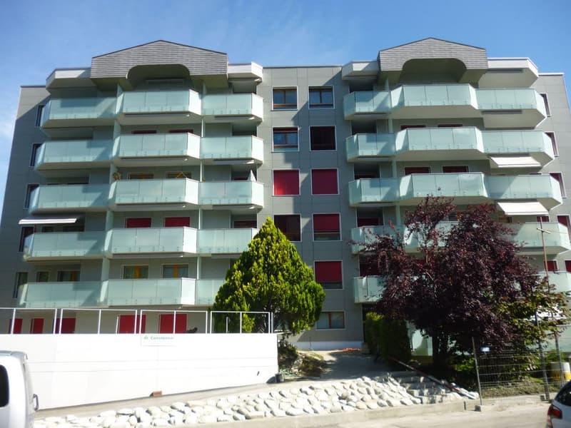 Spacieux appartement rénové de 2.5 pièces dans le quartier de Vissigen. (1)