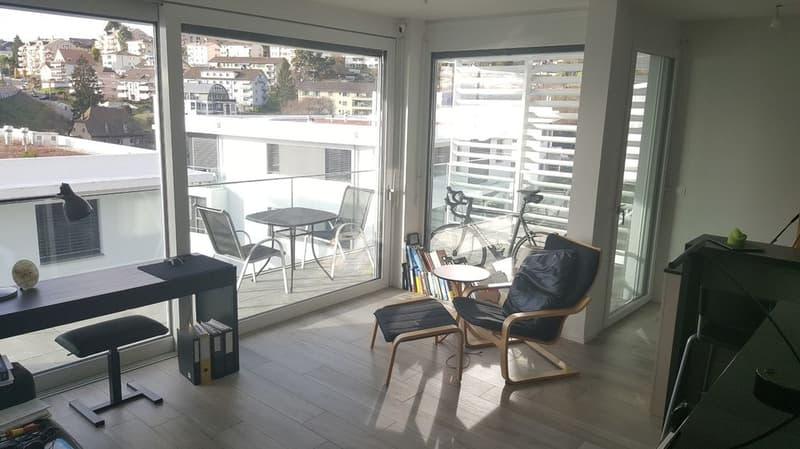 Magnifique appartement de 2.5 pièces au 2ème étage avec balcon