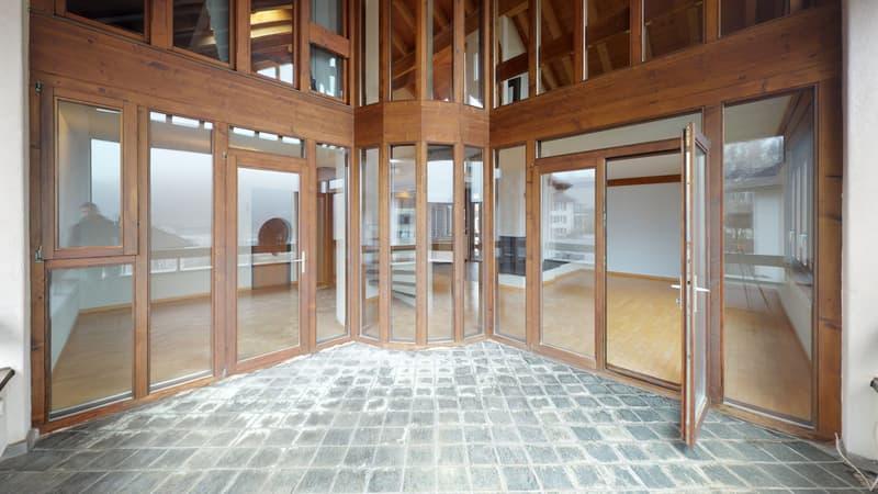 originelle 5.5-Zimmer-Maisonettewohnung in Mitlödi - schöner wohnen im Glarnerland