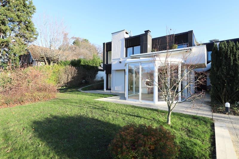 Belle maison d'architecte de 7 pièces à Anières (1)