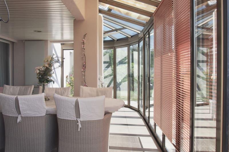 Terrassenhaus an bester Hanglage