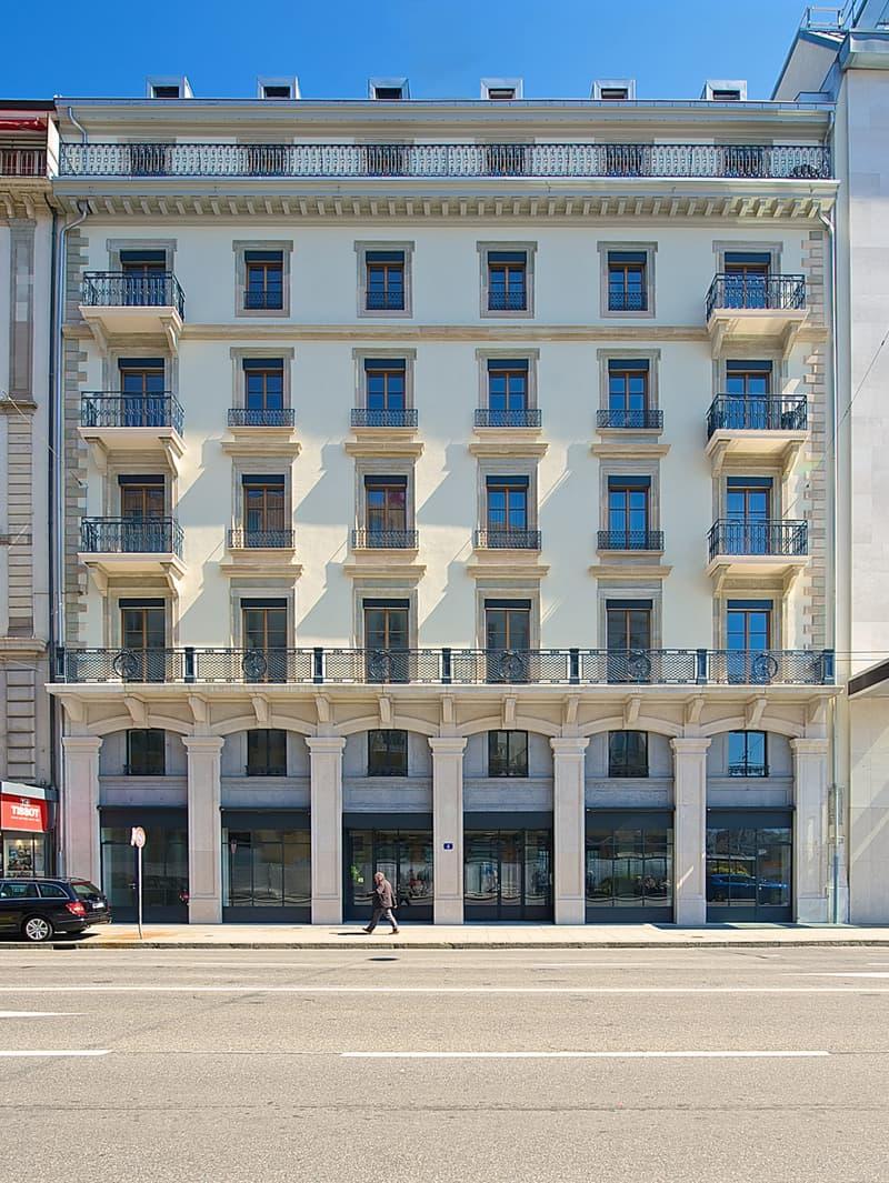 Bureaux de 92m2 dans un immeuble prestigieux du centre-ville de Genève