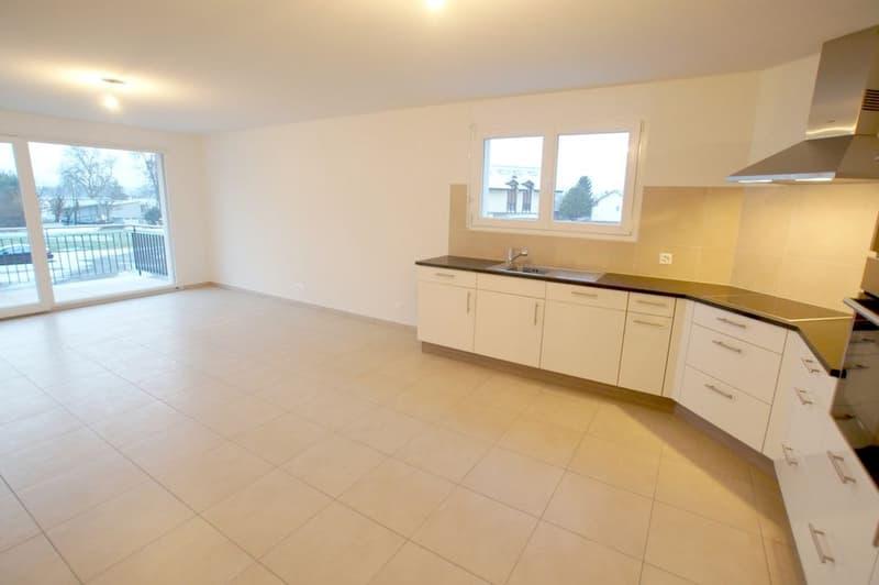 Appartement 3.5 pces avec balcon à Vallamand / VD