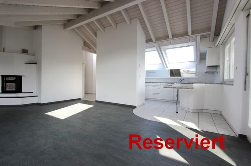 4.5-Zimmer-Dachgeschosswohnung im Zentrum der Gemeinde