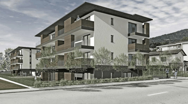 Appartamento 2.5 locali con giardino di nuova costruzione
