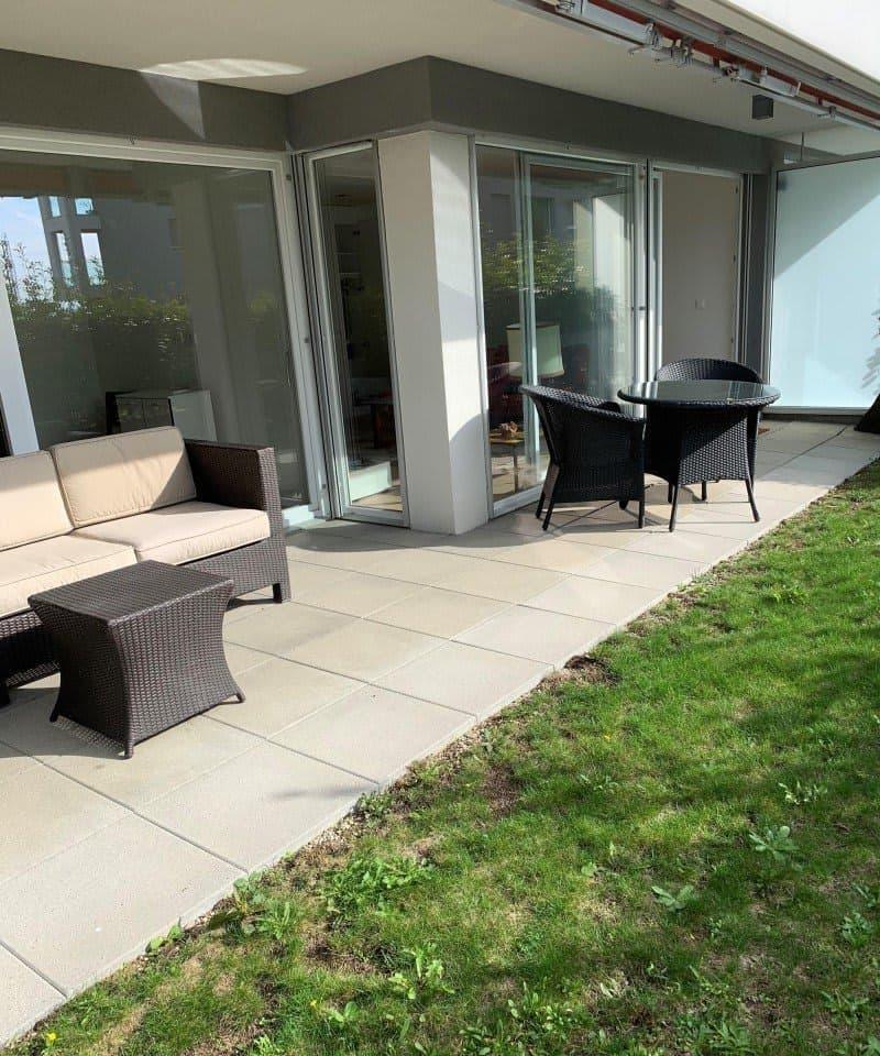2,5 pièces avec terrasse et petit jardin