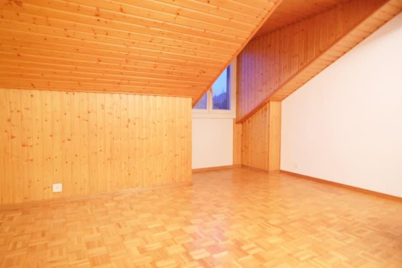 Bel appartement mansardé 4,5p // 3 chambres // Balcon