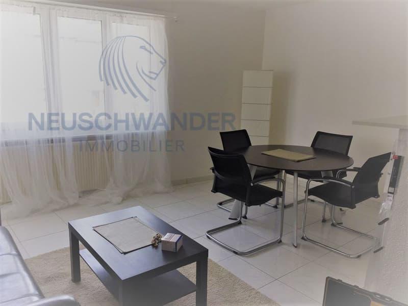 Appartement meublé 3.5 pces - 70 m2