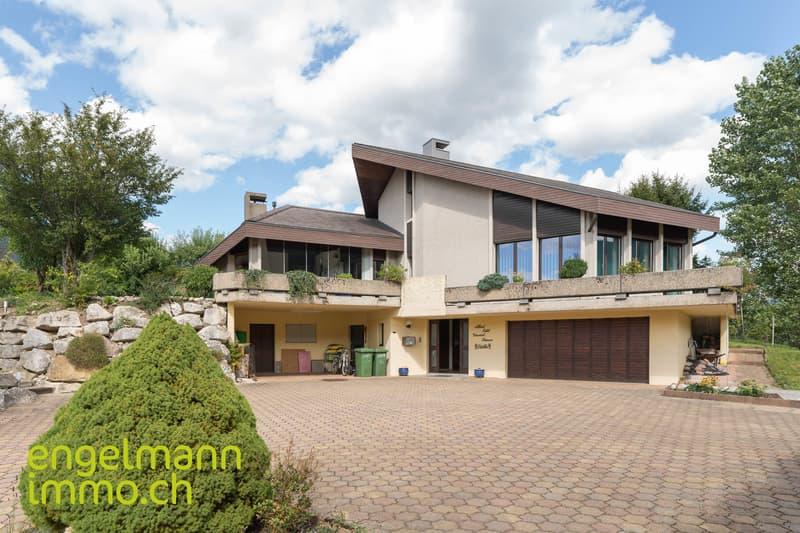 Villa d'architecte de 6.5-7.5 pièces / Architektenvilla von 6.5-7.5 Zimmer