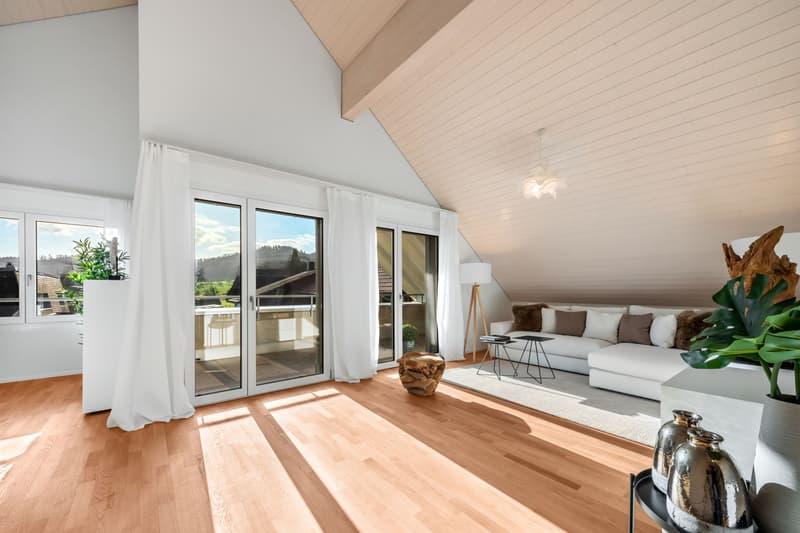 Traumhafte Dachwohnung *Erstvermietung Vorstatt Bottenwil*