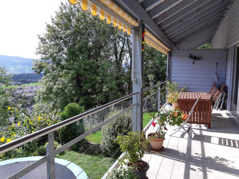 Balkon oben