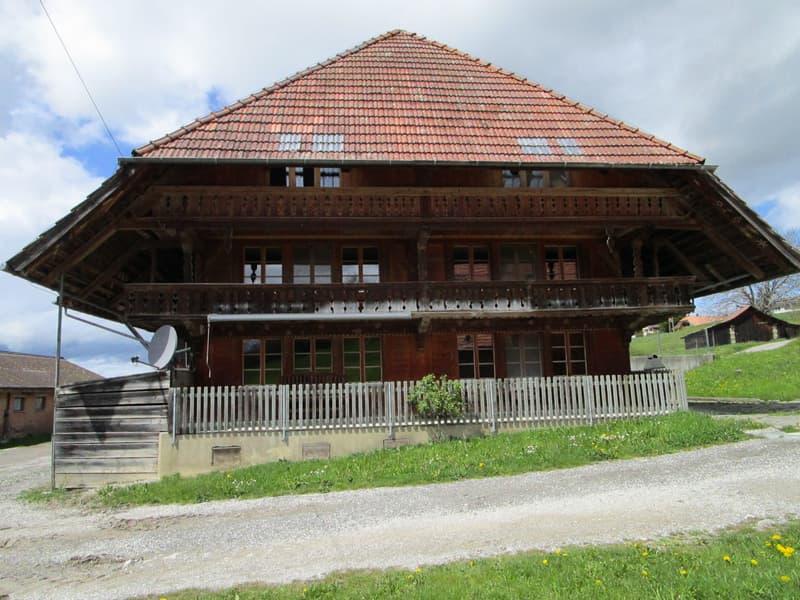 Grosses Bauernhaus in sonniger Lage zu vermieten