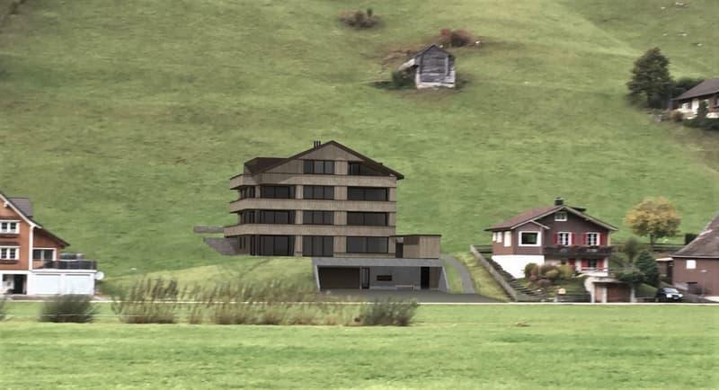 Sonnenhalb Wohnen! – Grosszügige Dachwohnung, ruhig und zentrumsnah