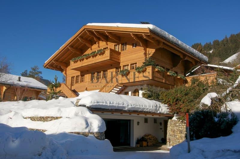 Splendide chalet avec jaccuzzi et sauna Situation exceptionnelle