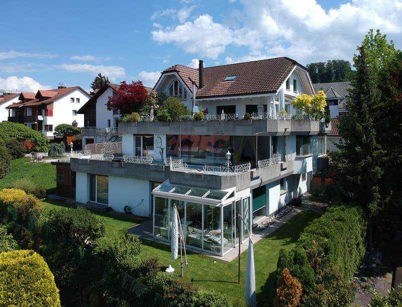 Attika-Wohnung mit der schönsten Aussicht auf den Zürichsee