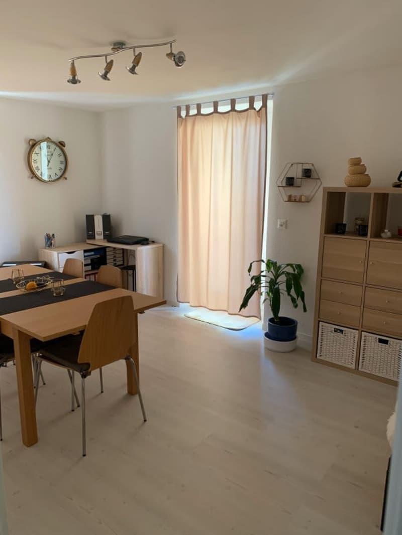 Magnifique rez-de-jardin 3,5p // 2 chambres // 1 SDB // Yvonand