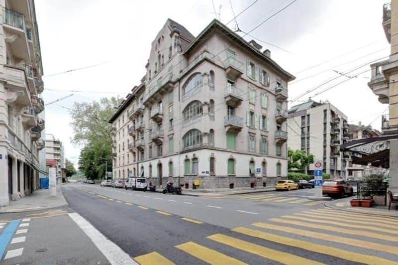 Bel appartement de 3 pièces aux Eaux-Vives.