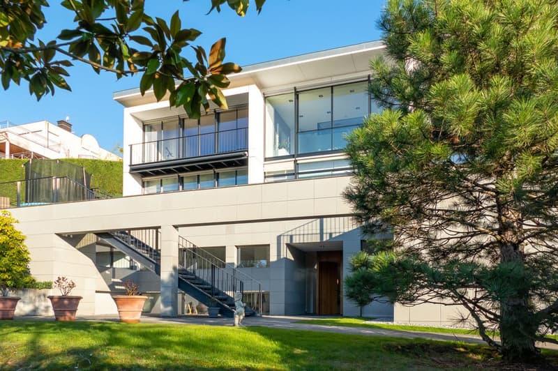 Maison contemporaine avec une sublime vue lac à Cologny (2)