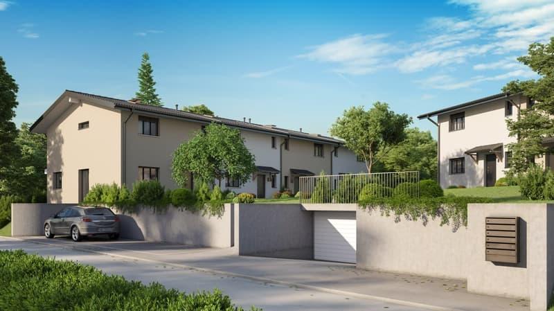 Bientôt, promotion de 6 villas contiguës à Onex.