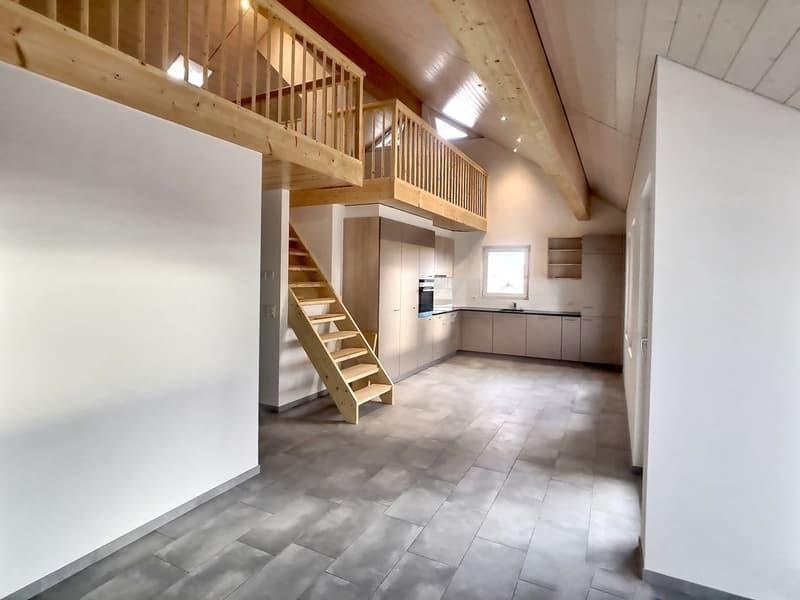 Appartement 4.5 pces neuf avec terrasse à Villars-le-Grand / VD
