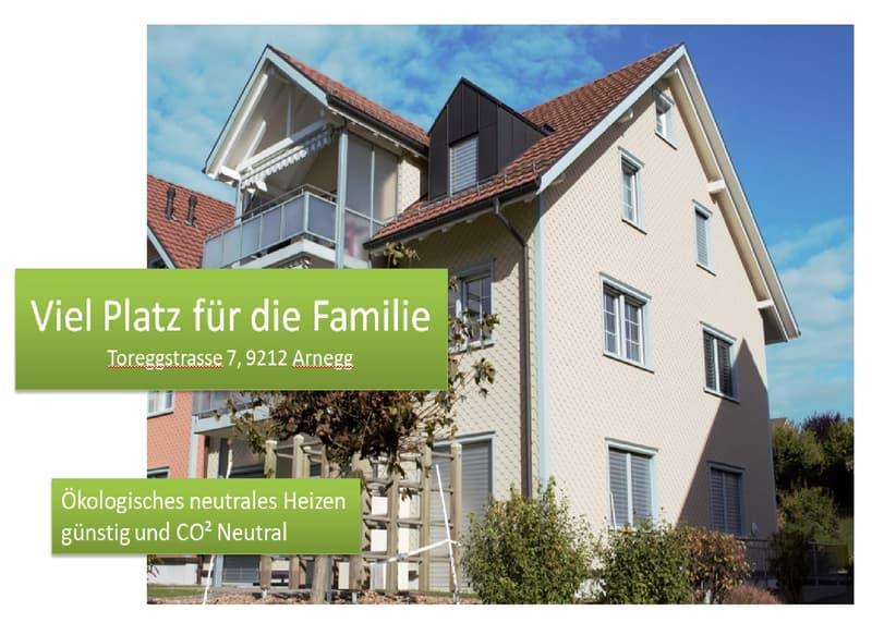 Viel Platz für die Familie und mit natürlicher Energie