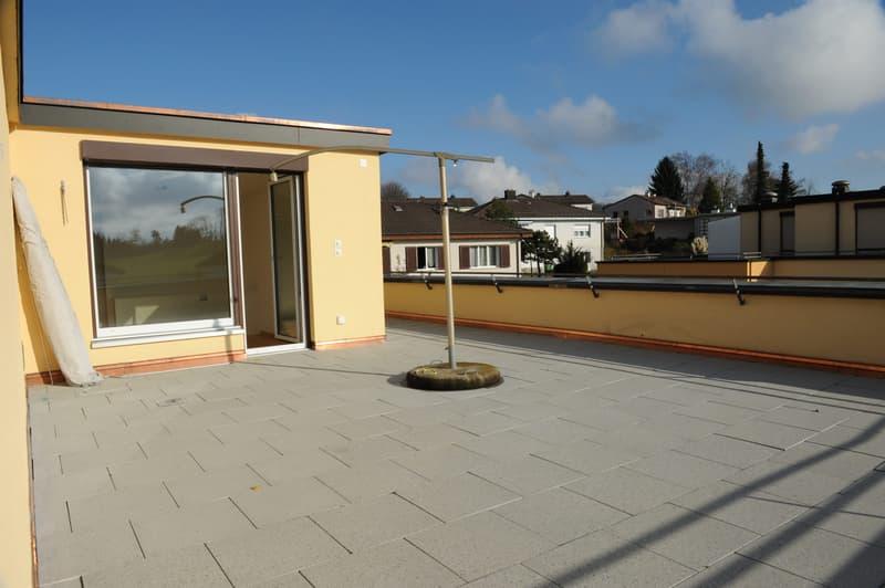 Terrassen-Teil Süd-Ost (mit Direkt-Zugang zu Eltern-Schlafzimmer)