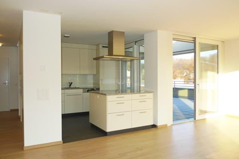 2.5-Zimmer-Attikawohnung mit 70 m2 Terrasse