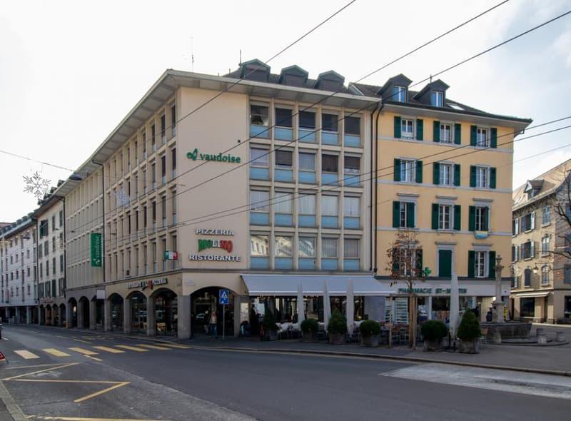 Appartement de 1 pièce en plein centre-ville de Vevey