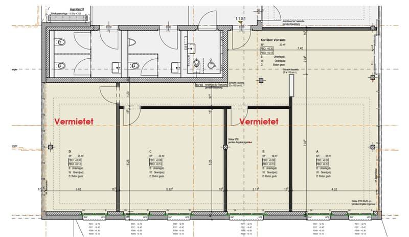 Bürogemeinschaft AM UFER - Heller Raum von 29 m2 mietbar