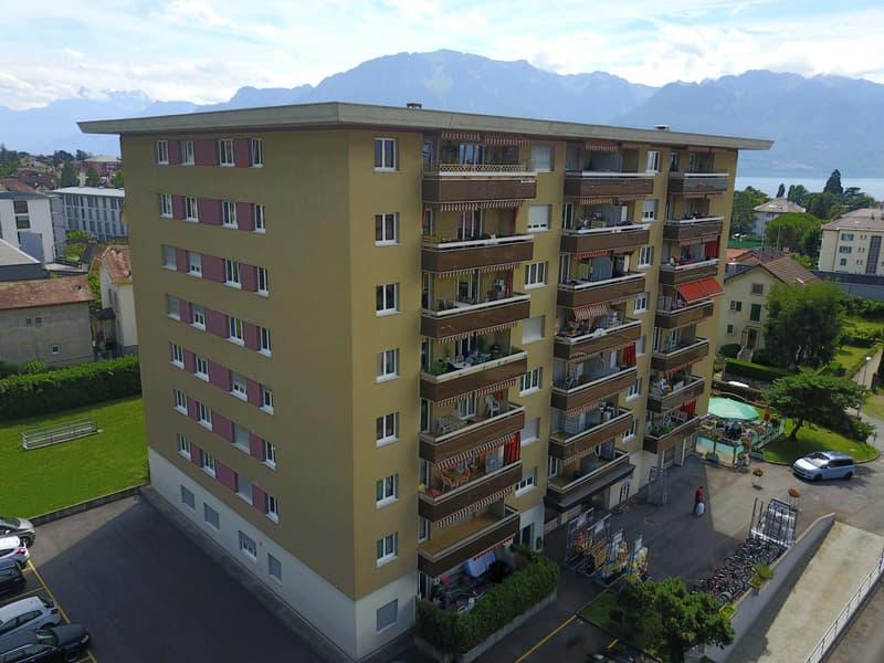 Bel appartement à louer proche de la gare de la Tour-de-Peilz