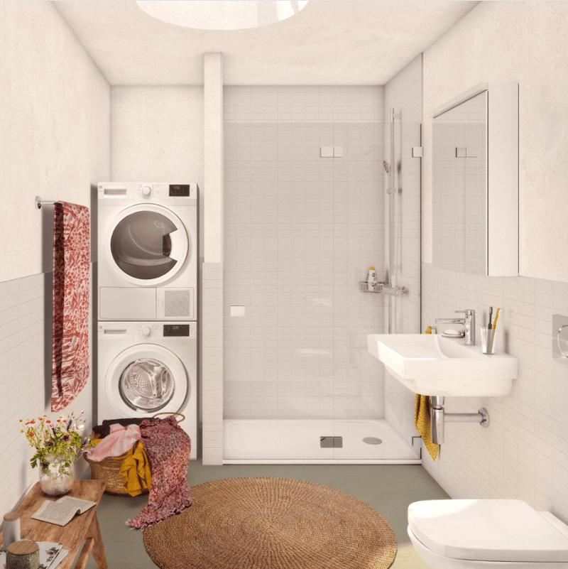 Visualisierung Badezimmer