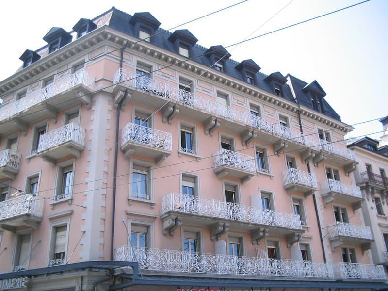 A louer au centre ville de Montreux appartement de 3.5 pièces