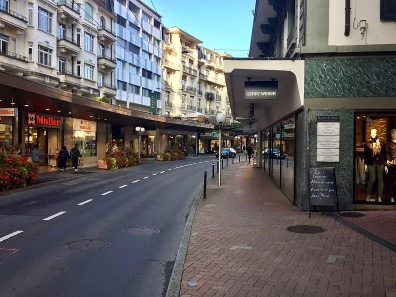 Surface commerciale de 260 m2 au cœur de Montreux