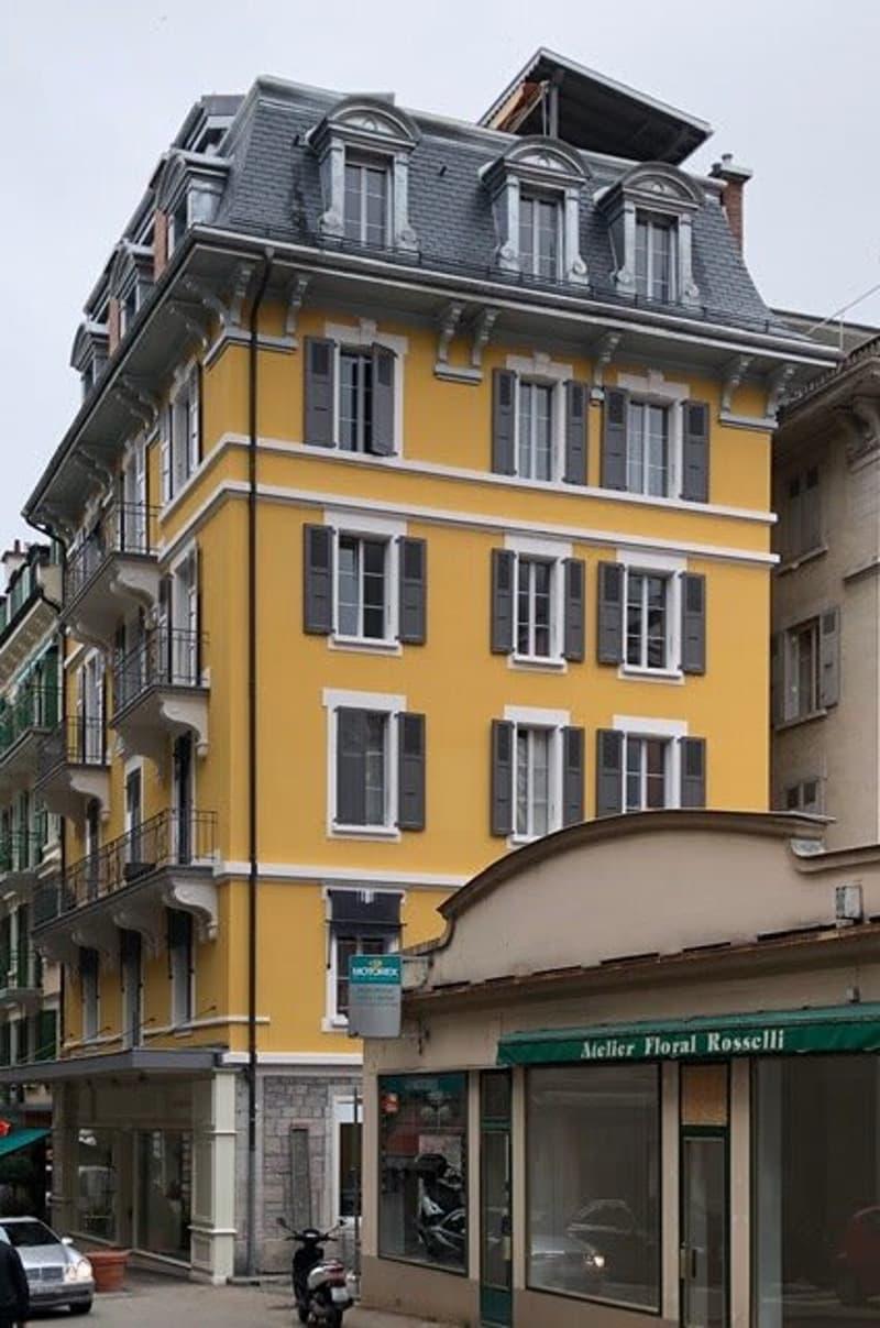 Appartement de 3.5 pièces au coeur de Montreux