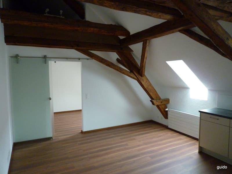 Gut ausgerüstete 2-zimmer-Wohnung im 2. OG ohne Lift